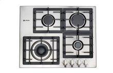 "Stainless Steel 24"" Gas 4 - Burner Designer Series"