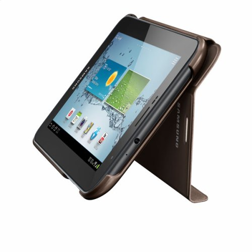 Galaxy Tab 2 7.0 Magnetic Book Cover, Brown