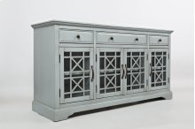 "Craftsman Earl Grey 60"" Media Unit"