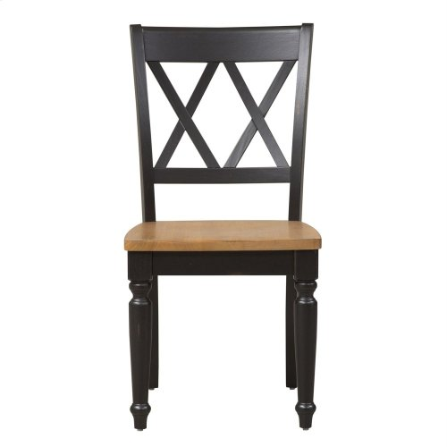 Double X Back Side Chair (RTA)
