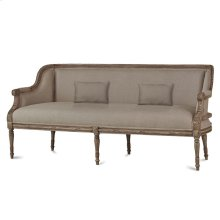 French Wing Low Back 3 Seater
