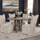 Delroy Armless Chairs, Stone Ivory, Product Image