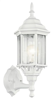 "Chesapeake 17"" 1 Light Wall Light White"