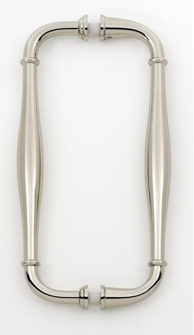 Charlie's Collection Back-to-Back Pull G726-8 - Polished Nickel