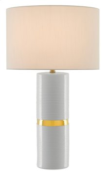Enzo White Table Lamp