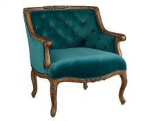 Teal Bloom Chair