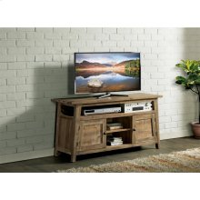Rowan - 58-inch TV Console - Rough-hewn Gray Finish