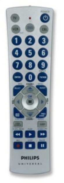 Philips Remote Control US2-PM4S Universal Big button