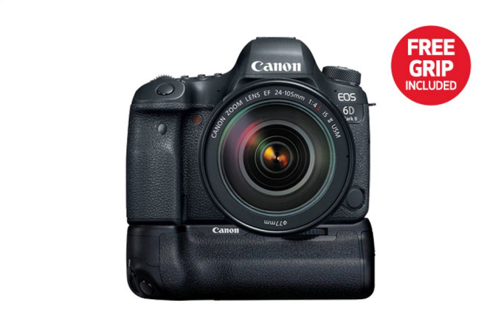 Canon EOS 6D Mark II EF 24-105mm f/4L IS II USM Kit Digital SLR Camera
