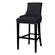 Charlotte Fabric Bar Stool, Charcoal
