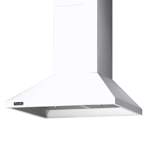"36"" Wide Chimney Wall Hood + Ventilator"