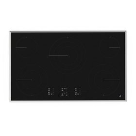 """Jenn-Air® Lustre Stainless 36"""" Electric Cooktop with Glass-Touch Electronic Controls - Stainless Steel"""