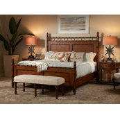 Panel King Bed