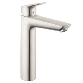 Brushed Nickel Single-Hole Faucet 190 with Pop-Up Drain, 1.2 GPM