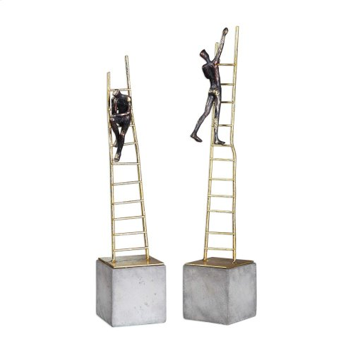 Ladder Climb Figurines, S/2