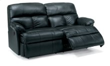 Triton Leather Power Reclining Studio Sofa