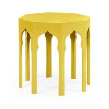 Side Table (Yellow Rain Coat)