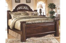 Gabriela - Dark Reddish Brown 3 Piece Bed Set (Queen)