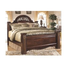Gabriela - Dark Reddish Brown 3 Piece Bed Set (Queen)