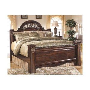 Ashley Furniture Gabriela - Dark Reddish Brown 3 Piece Bed Set (Queen)