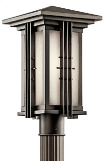 Portman Square 1 Light Post Light Olde Bronze®