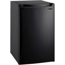 4.4 Cubic-ft Refrigerator (Black)