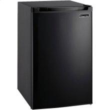 4.4 Cubic-ft Refrigerator (Black)