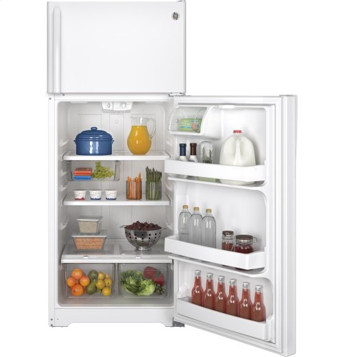 FACTORY BLEMISH UNIT - GE® ENERGY STAR® 17.5 Cu. Ft. Top-Freezer Refrigerator