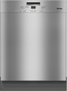 G 4925 SCU AM Pre-finished, full-size dishwasher with visible control panel, cutlery tray and 5 Programs ***FLOOR MODEL CLOSEOUT PRICING***