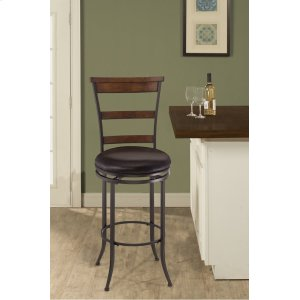 Hillsdale FurnitureCameron Ladderback Swivel Barstool