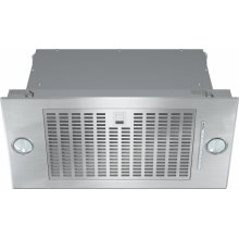 DA 2360 Insert ventilation hood with energy-efficient LED lighting and backlit controls for easy use.
