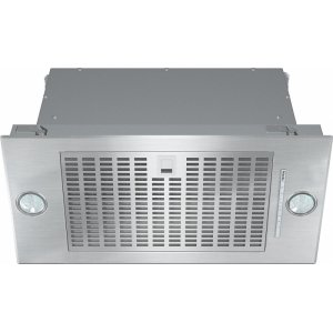 MieleDA 2360 Insert ventilation hood with energy-efficient LED lighting and backlit controls for easy use.