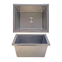 Lago Sink - SK418 White Bronze Medium