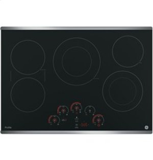 """GE Profile 30"""" Electric Cooktop with Built-In Touch Control"""