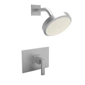 Satin-Nickel Balanced Pressure Shower Trim Set