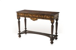Victory Oak Console Table