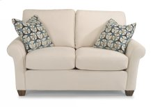 Christine Fabric Loveseat without Nailhead Trim
