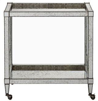 Monarch Bar Cart - 30w x 17.5d x 31h