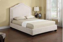 Lilian - Headboard/footboard/rails/slats Kit Queen Upholstered Bed