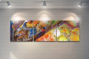 Abstract Colorful Artwork Product Image