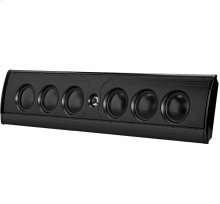 Ultra slim high performance on-wall or on-shelf loudspeaker