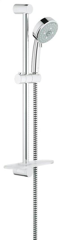 New Tempesta Cosmopolitan 100 Shower Rail Set 4 Sprays