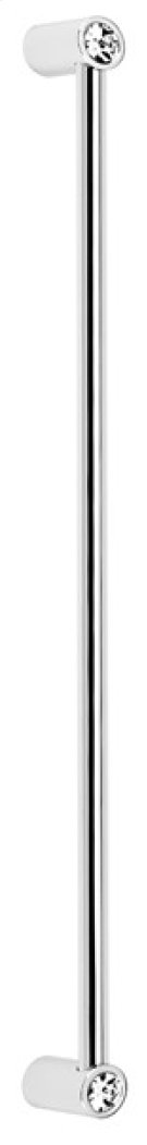 Contemporary Crystal Appliance Pull CD715-12 - Polished Chrome Product Image