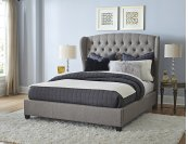 Bromley Bed Set - Queen - Rails Included