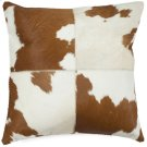 Carley Pillow - Tan / White Product Image