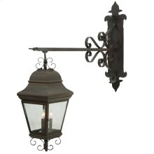 "11"" Wide Monaco Lantern Wall Sconce"