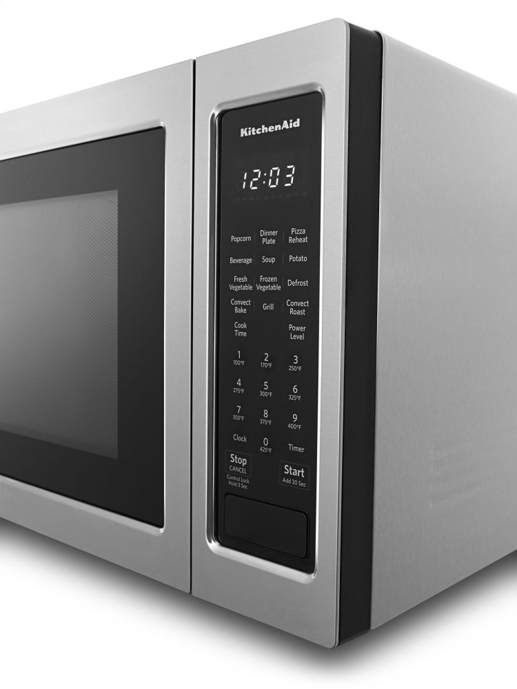 Kitchenaid 21 3 4 Countertop Convection Microwave Oven 1000 Watt Stainless Steel