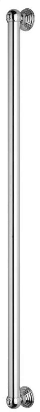 "Polished Chrome 36"" Decorative Grab Bar Product Image"