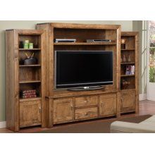 Contempo 2/pc. Center Unit Only from CO460 Wall Unit with 58'' Wide TV Opening