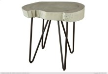 Authentic Live-Edge High Chair Side Table